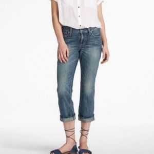 Lucky Brand Classic Typhoon Rider Cropped Jeans